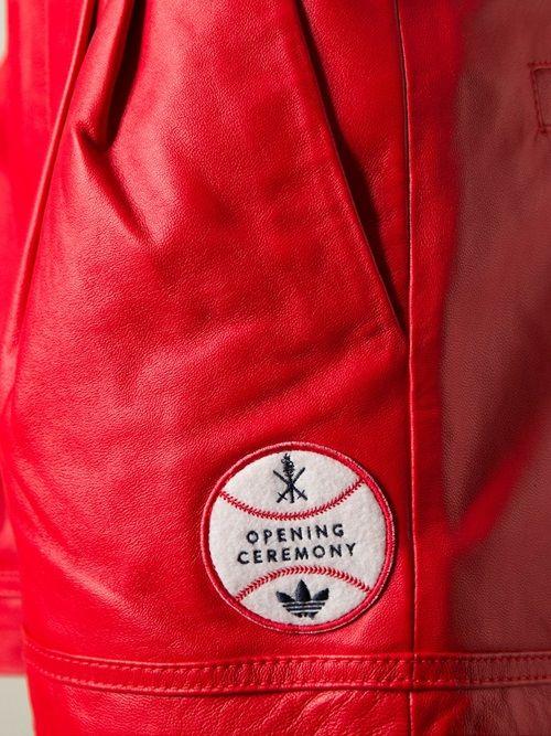 Women - Adidas Originals X Opening Ceremony Baseball Shorts - WOK STORE