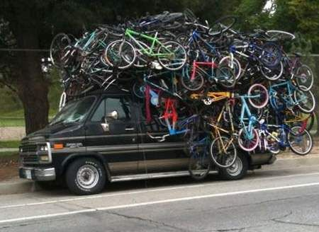 Any one wants bicycles?