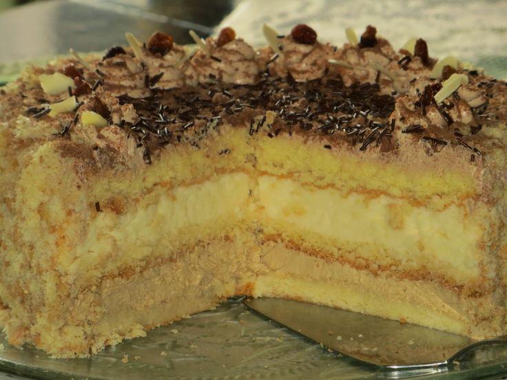Domowe ciasta i obiady: tort