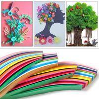 DIY papírové řemeslo Art Quilling 360 pásky 36 barvy 540mm délka 3/5/7 / 10mm šířka