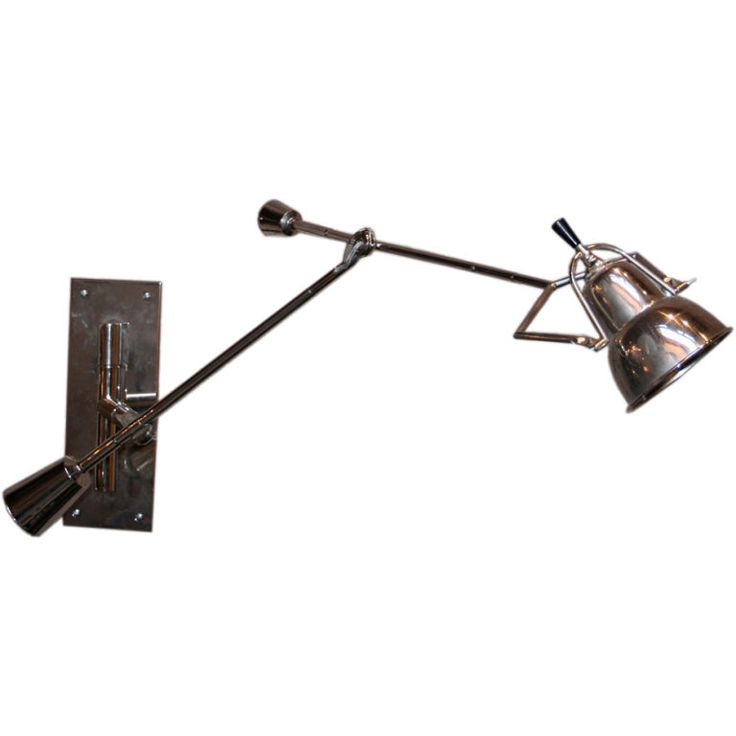 20's Wall Lamp by Edourd Buquet