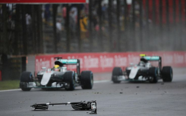 Lewis Hamilton, Nico Rosberg, Brazil 2016, Mercedes [1920x1200]