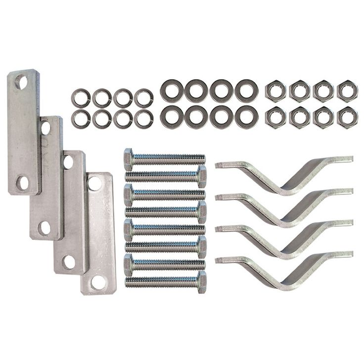 Rail Mounting Kit, for Lifebuoy Ring Container with Door image