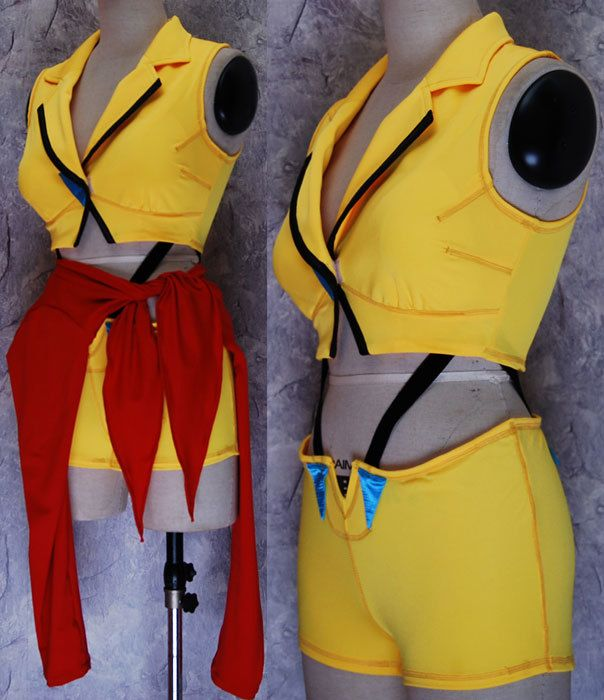 Cowboy Bebop Faye Valentine dress make-up halloween cosplay costume