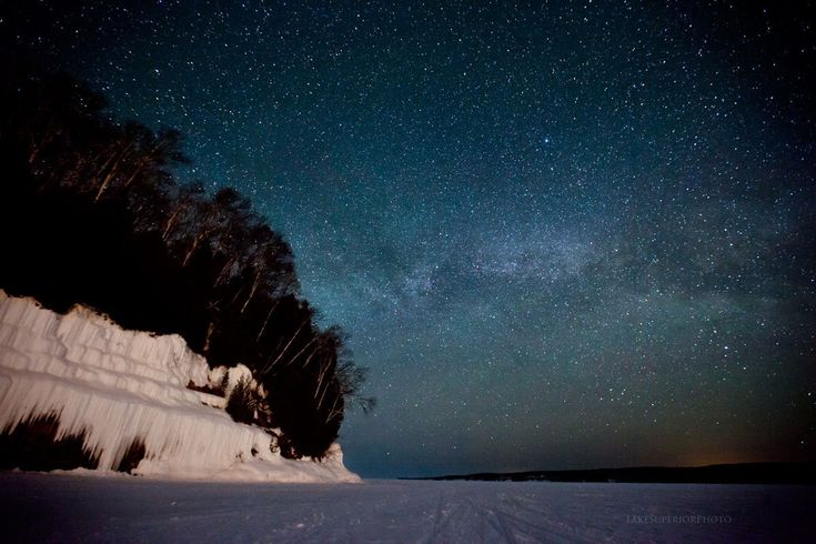 lake superior: Here's one of the best places in America to stargaze: http://huff.to/1t3add1