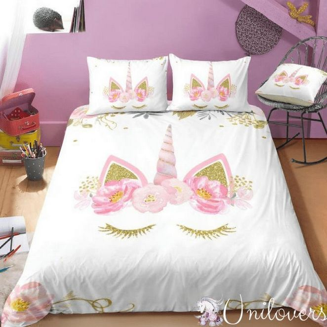 34 The Biggest Myth About Girls Bedroom Ideas Tween 10 Year Old Purple Exposed 32 Inspirabytes Com Unicorn Bed Set Bedding Sets Girls Bedroom