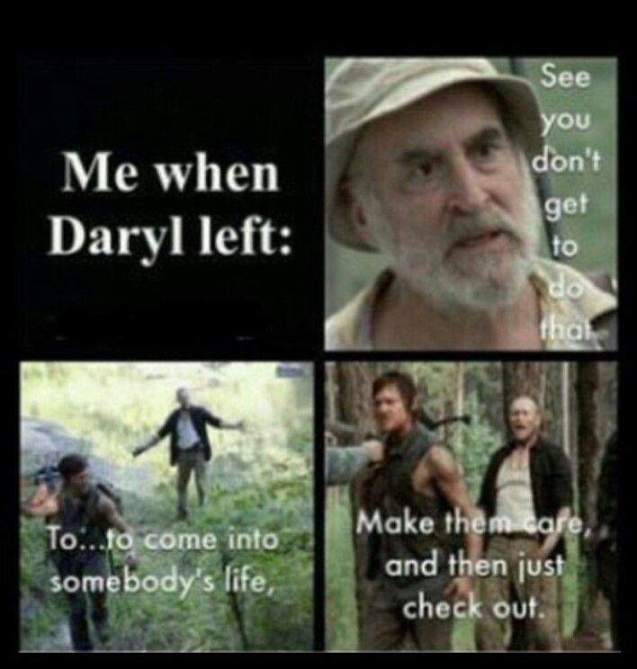 feelings   daryl dixon, daryl, best zombie