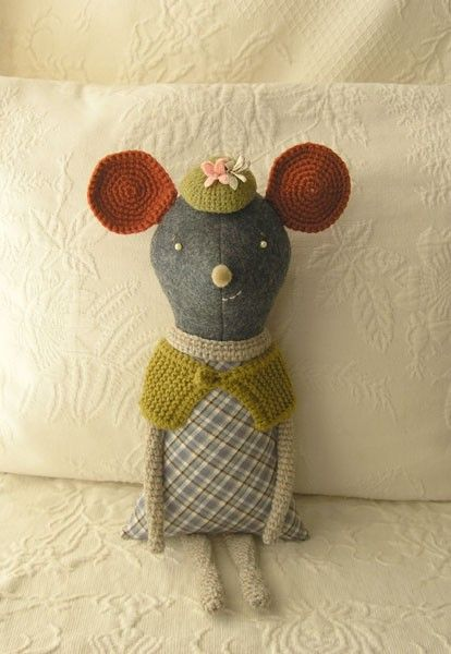 Miller the Mouse by Sweetnellie on Etsy, $38.00