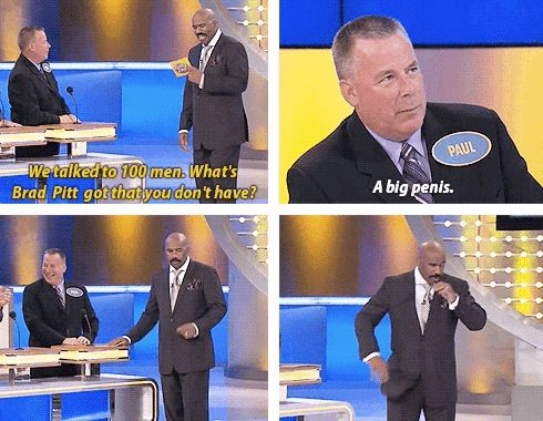 """Actually, most of these involve penises. 