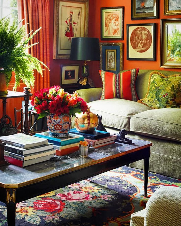 Room With Nothing In It: To Choose A Colourful Living Room Is Not For Everyone