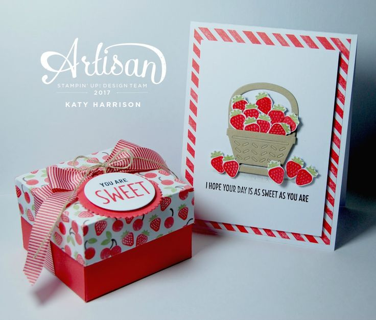 Hello there, welcome to this weeks artisan hop.   Today's post features a project using the cute Cool treats stamp and matching thinlits se...
