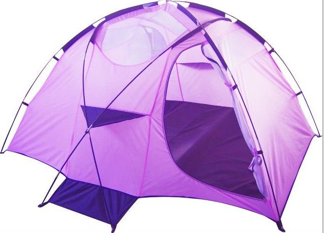 Purple Camping Tents Tent Fly Sheet 190t Polyester Pu Coated 1200mm Waterproof Pinterest And