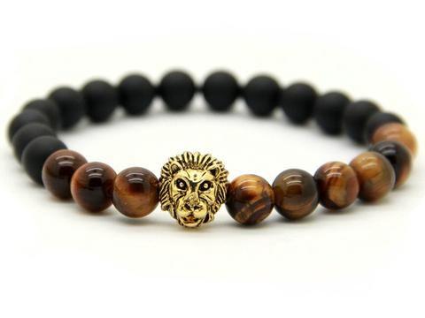 The Golden Lion Bracelet