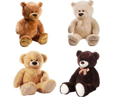 Wenn du einen knuddeligen, liebenswerten Kuschelpartner für traurige Momente und einsame Nächte suchst oder einem geliebten Menschen eine ganz besondere Freude machen willst, dann sind diese süssen <b>Teddybären</b> genau das Richtige.
