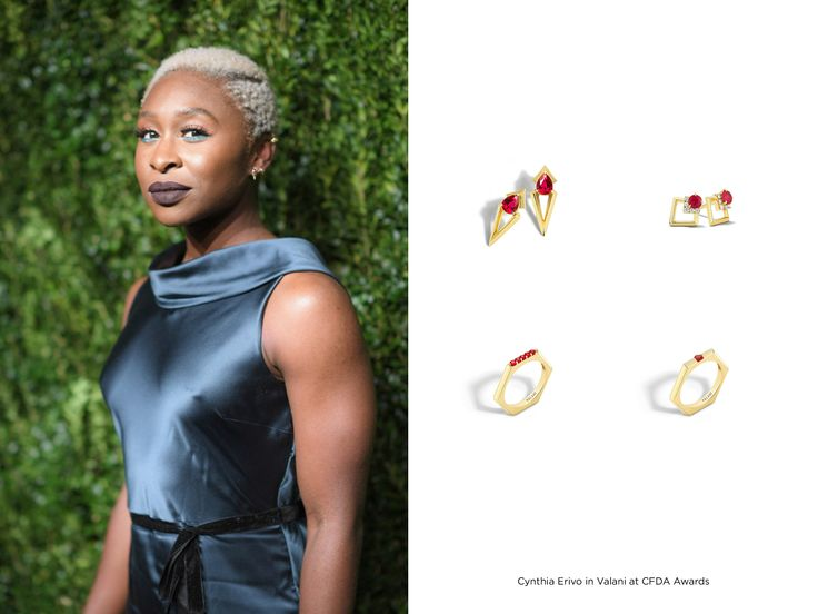 Cynthia Erivo in Valani at the CFDA Awards