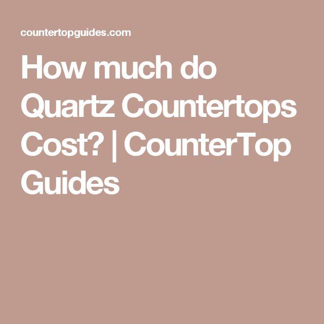 Best 25+ Quartz countertops cost ideas on Pinterest ...