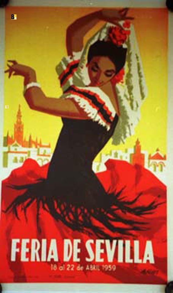 FERIA DE SEVILLA 1959 One day I will visit every Spanish party