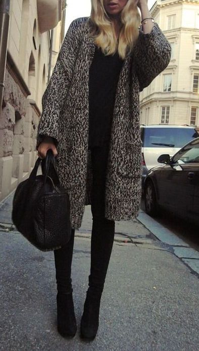 #street #style fall / coat