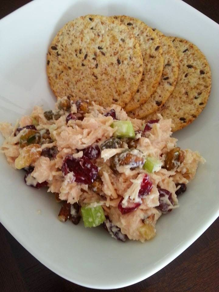 Shine Brighter: Clean Chicken Salad - 21 Day Fix approved (measure!!)