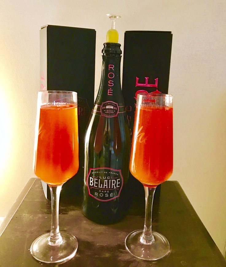Belaire Rose Mimosa Add Orange Juice To The Chilled
