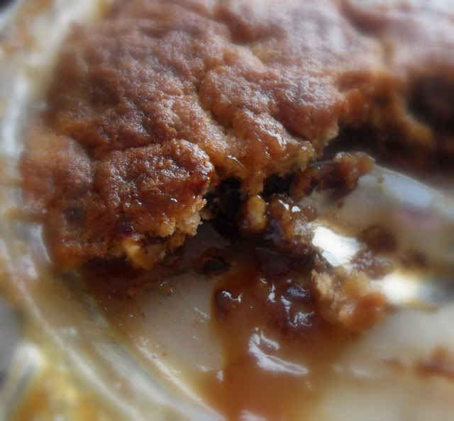 "So easy and   F*A*B*U*L*O*U*S !The English Kitchen: Old Fashioned Date and Walnut Pudding  Every Christmas, Aunt Bib would come and find me and say, ""I brought the date nut pudding!"" I would promptly stop playing and go get a bowl!"