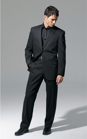 Чёрные костюмы мужские