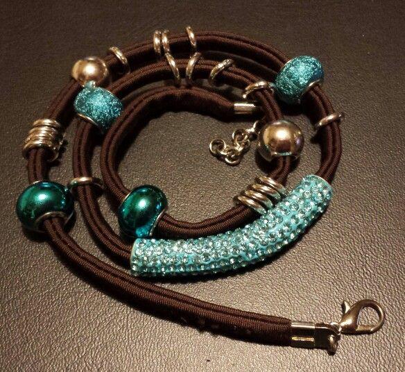 Bracelet/necklace Lycra