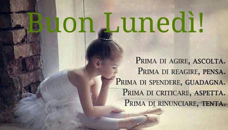PRIMA DI AGIRE ...