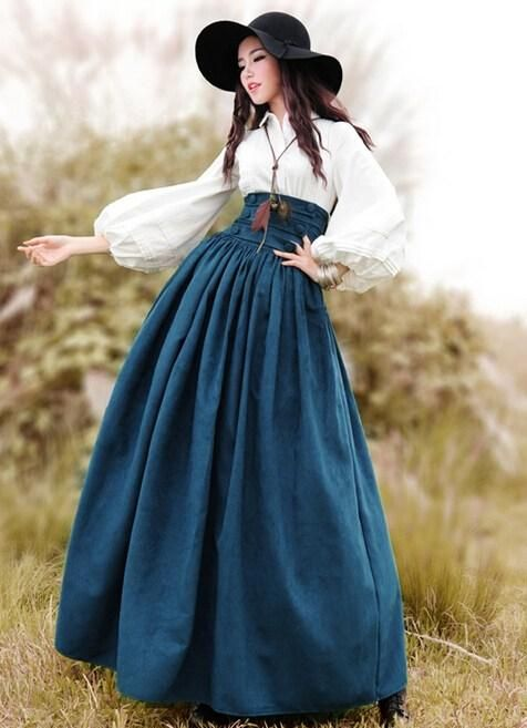 Wholesale cheap  online, buttons, sashes   - Find best  Free Shipping 2015 New Vintage High Waist Long Maxi A-line Plus Size Royal Design Women Winter Suede Bandage Skirts With Big Hem hot sale at discount prices from Chinese Skirts supplier - jamp on DHgate.com.