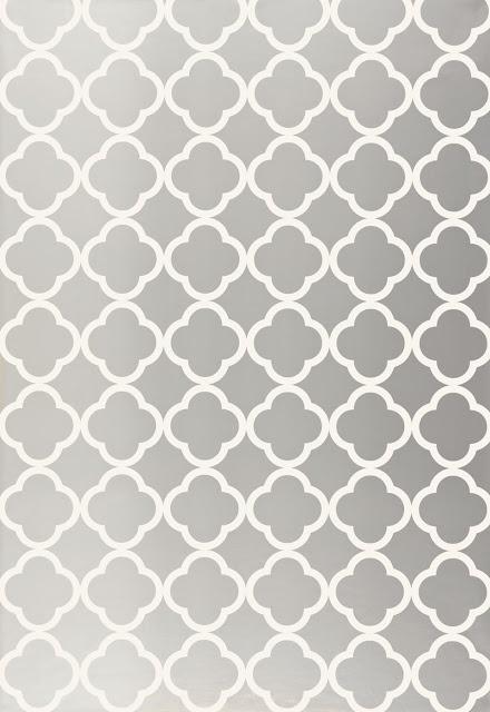schumacher wallpaper - Morocco via The Peak of Tres Chic: Metallic Powder Baths