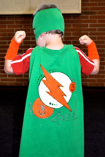 Use Old T-Shirts To Make Custom Party Capes    Reader Project