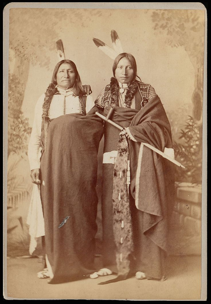 Native American men.
