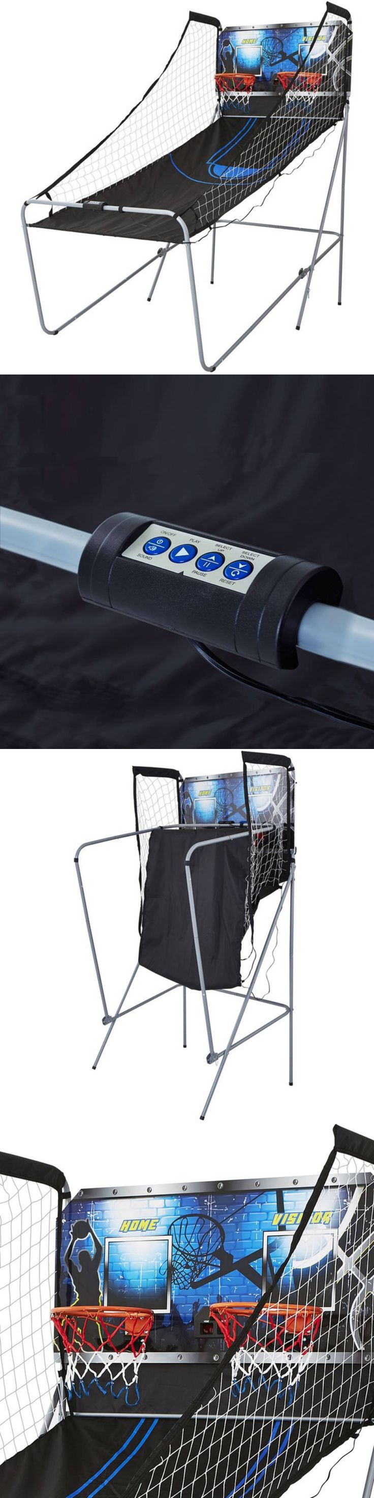 Other Indoor Games 36278: 2 Player Arcade Basketball Game 8 Game Options Md Sports Led Scoring System New -> BUY IT NOW ONLY: $71.99 on eBay!