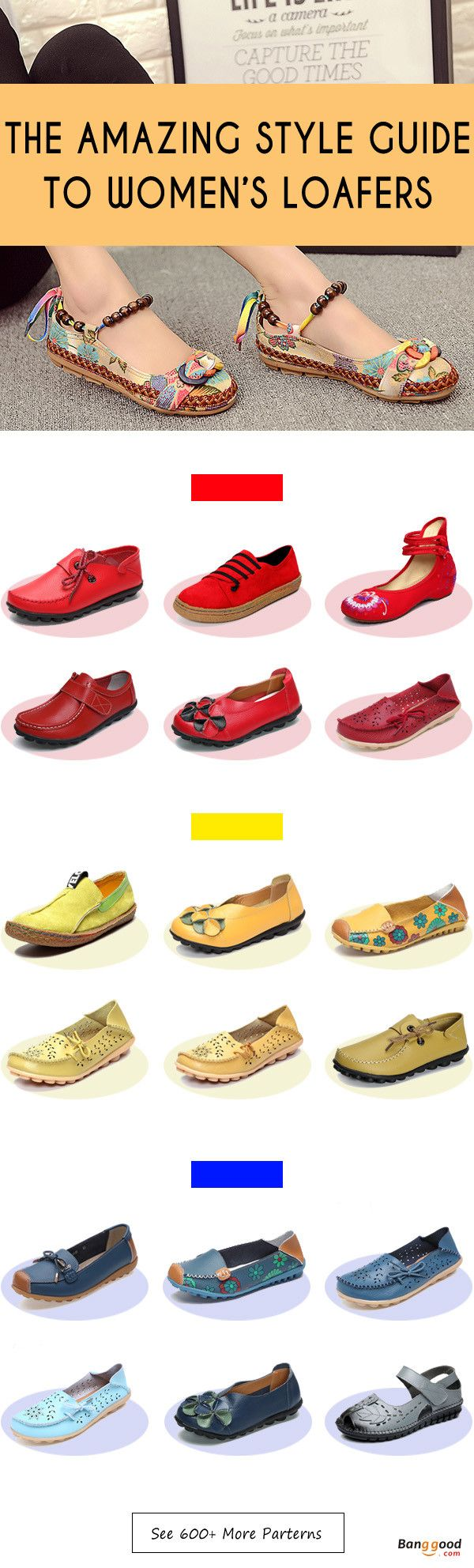 Women's Flats and Loafers Collection, Start From $9.9, Shop with fun! Women's Shoes, Women's Fashion, Flats and Loafers.