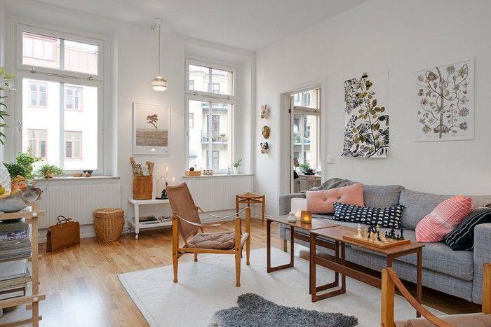 //Inspiration déco// Un appartement scandinave très féminin