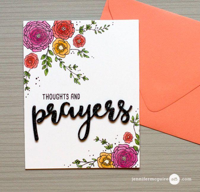 Split Card Design + Stamps For a Cause + Giveaway - Jennifer McGuire Ink