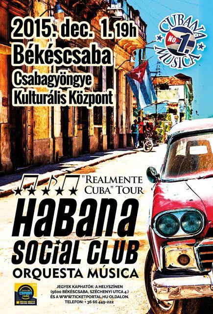Plakat104.hu: Habana Social Club koncert Békéscsabán