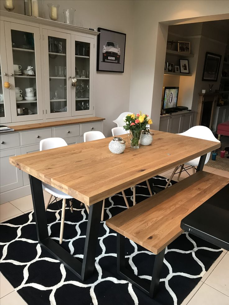 John Lewis Calia dining table and bench