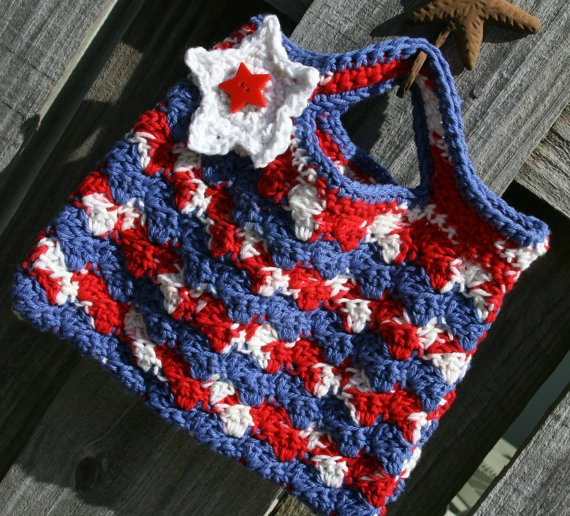 145 Best Crochet Americane Redwhiteblue Images On Pinterest