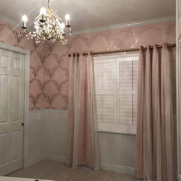 Brockham Solid Blackout Thermal Grommet Curtain Panels Panel