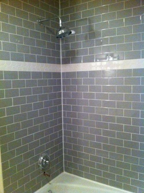 43 Best Images About Showers On Pinterest Grey Subway