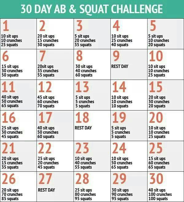 30 Sit Up Challenge