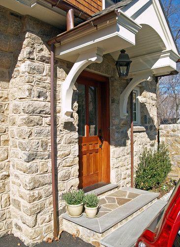 Front door overhang exterior pinterest for Front door overhang ideas