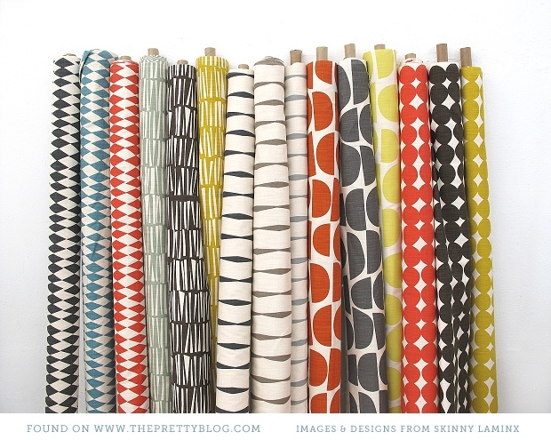 Colourful fabrics | From: Skinny laMinx
