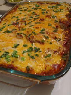 baked enchilada casserole NO CARB