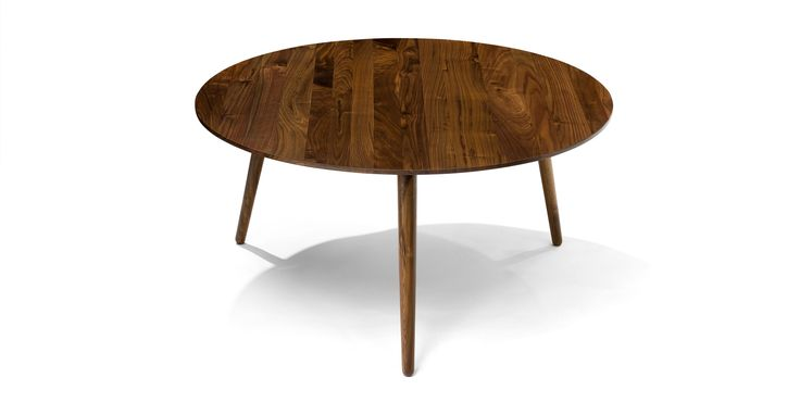 $349 Amoeba Wild Walnut Coffee Table - Coffee Tables - Bryght | Modern, Mid-Century and Scandinavian Furniture