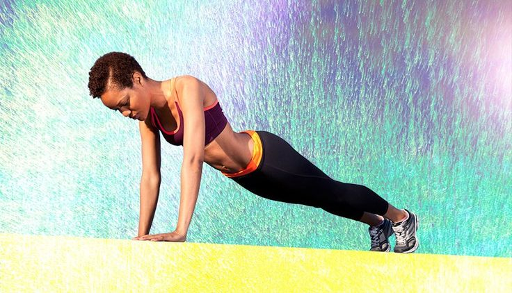 This mini circuit will work your upper body, core, and lower body all before you start your day.