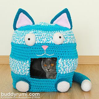 This pattern is available for $8.00 USD http://www.ravelry.com/patterns/library/kitty-kat-house