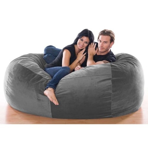 Bean Bag Chairs Jaxx Club Lounger In Microsuede At Brookstone