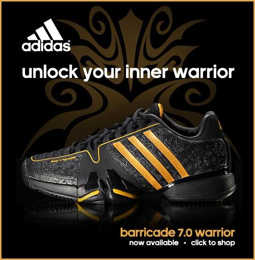 adidas barricade 7 warrior